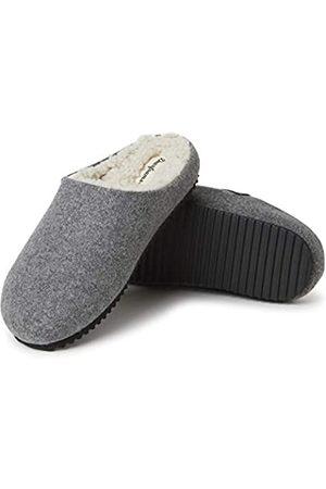 Dearfoams Damen Microwool Molded Footbed Clog Slipper