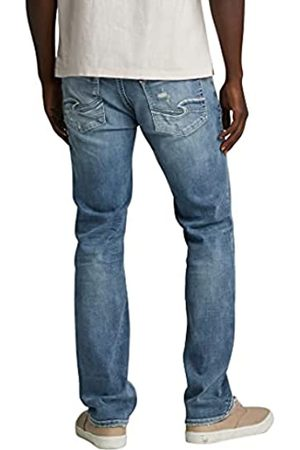 Silver Co. Herren Allan Slim Leg Jeans