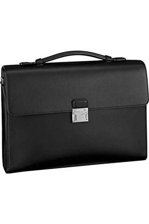 Mont Blanc Briefcase Single Gusset Black