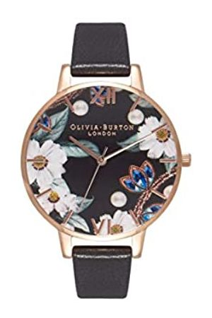 Olivia Burton OliviaBurtonDamenAnalogQuarzUhrmitLederArmbandOB16BF04