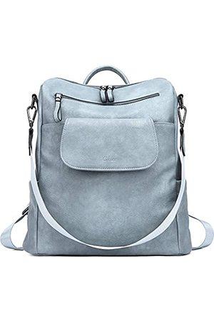 CLUCI Rucksack für Damen, modisch, Leder, Designer-Reisegepäck, groß