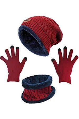 HINDAWI Wintermütze, Schal, Handschuhe