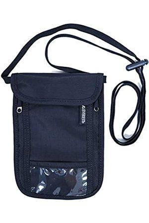 Everest Neck Pouch & Passport Holder with RFID, Black