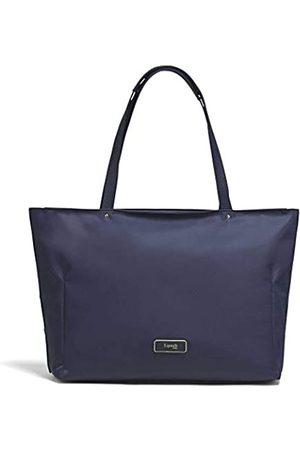 Lipault Business Avenue Laptop-Tragetasche – Top-Griff Schulter Handtasche für Frauen – Nachtblau