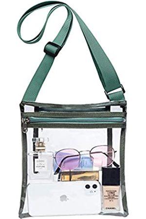 Vorspack Clear Bag Stadion zugelassene transparente Konzerttasche mit Innentasche, Unisex