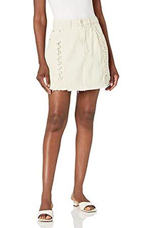KENDALL + KYLIE Women's Lace Up Denim Mini Skirt