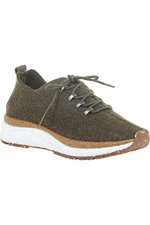 OTBT Damen Courier Sneaker, Gr�n (wald)