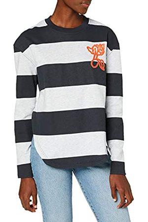 G-Star Womens Striped Tweater Sweatshirt