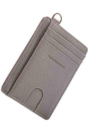 Bybetermon Dünne Geldbörse, minimalistisch, doppelter RFID-blockierender Kartenhalter