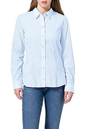 Seidensticker Damen Regular Fit Bluse Hemdbluse Langarm Regular Fit Uni Bügelfrei (12)