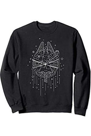 STAR WARS Christmas Millennium Falcon Tree Transport Sweatshirt