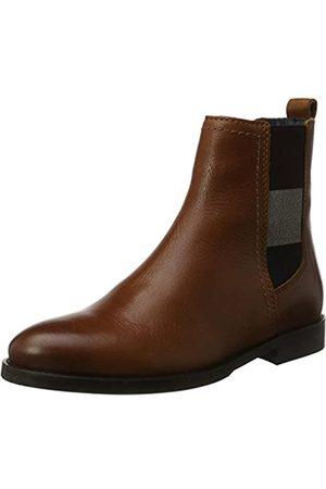 Tommy Hilfiger Damen G1385ENNY 16A2 Chelsea Boots, (Summer Cognac)