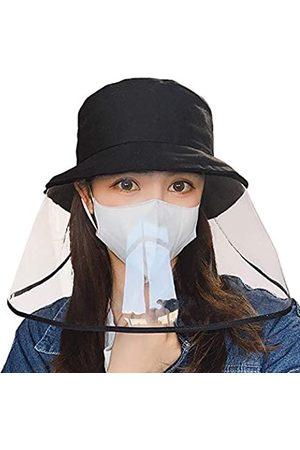 jiulory Schutzkappe Fischerhut Staubdichte Kappe Sonnenhut für Erwachsene Outdoor Winddichte Kappe Sicherheit Face Shield Hut