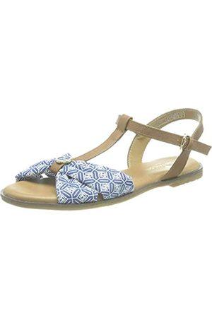TOM TAILOR Damen 1193905 Flache Sandale