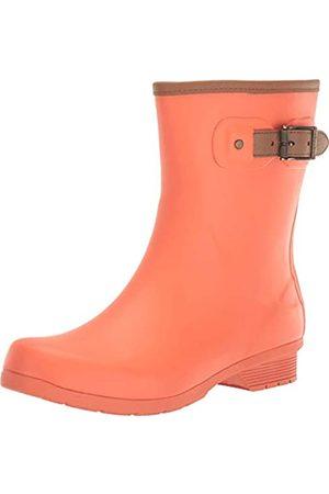 Chooka Damen Regenstiefel aus Memory-Schaum, Pink (korallenrot)