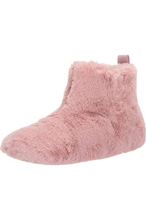 FitFlop Damen Pantoffel Pelz, Pink (rose)