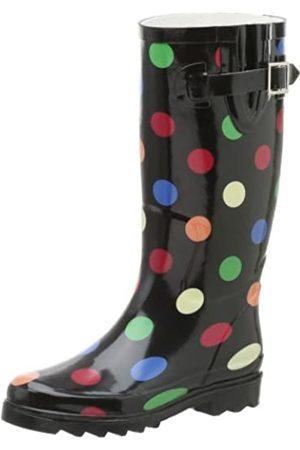 Chooka Damen Primary Dots Regenstiefel, Mehrere (Multi)