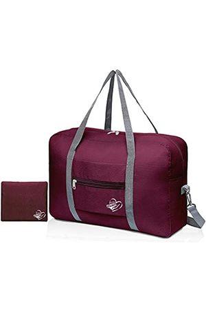 FUNFEL Faltbare Reisetasche, Reisetasche, Handgepäck, Sport, wasserabweisend