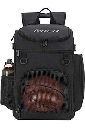 MIER Basketball Rucksack Große Sporttasche Für Mit Laptop Compartt, am besten für Fußball, Volleyball, Schwimmen, Fitnessraum, Reise