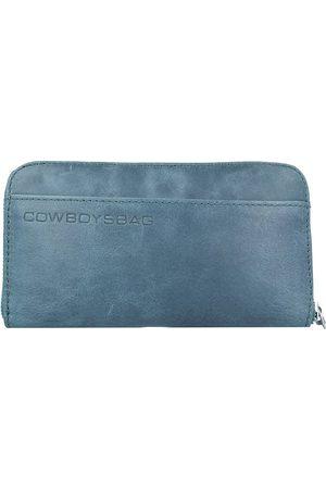 Cowboysbag Damen Geldbörsen & Etuis - The Purse Geldbörse Leder 19,5 Cm in petrol, Geldbörsen für Damen