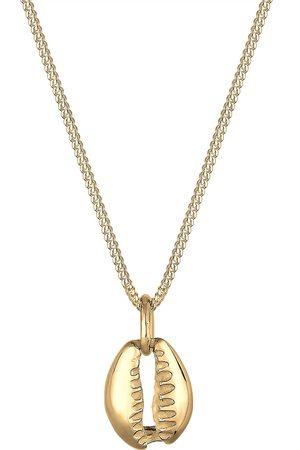 Elli Halskette Muschel Anhänger Maritim Meer 925 Sterling Silber in , Schmuck für Damen