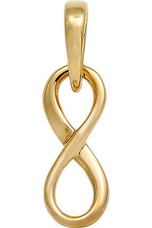 Elli Anhänger Infinity Unendlichkeits-Symbol Edel 585 Gelbgold in , Schmuck für Damen