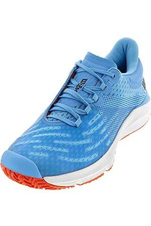 Wilson Damen KAOS 3.0 Jr Schuhe, Bonnie Blue/White/Tangerine Tango