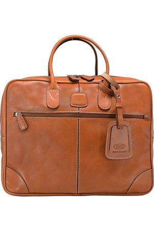 Bric's Life Pelle Aktentasche Leder 38 Cm Laptopfach in mittelbraun, Businesstaschen für Herren