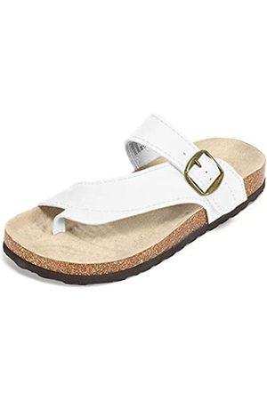 White Mountain Damen Carly Flache Sandale