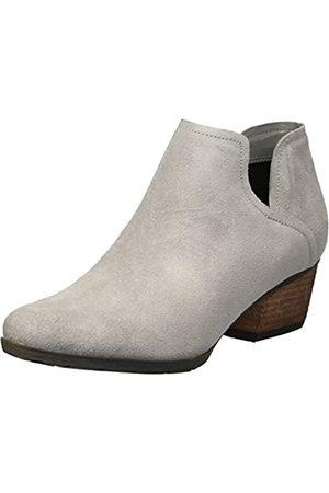 Blondo Women's Victoria Waterproof Rain Shoe, Light Grey Suede
