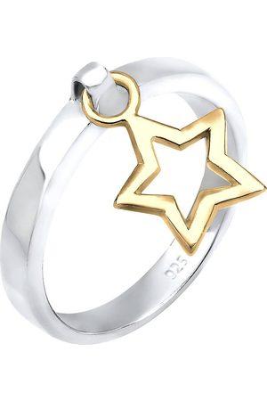 Elli Ring Stern Anhänger 925 Sterling Silber Geschenkidee in , Schmuck für Damen