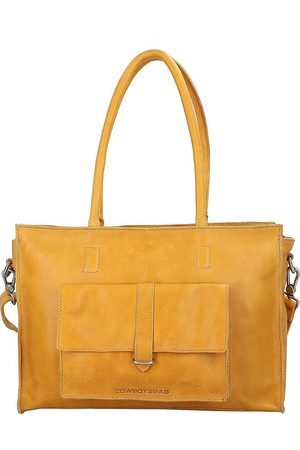 Cowboysbag Edgemore Schultertasche Leder 41 Cm Laptopfach in , Schultertaschen für Damen