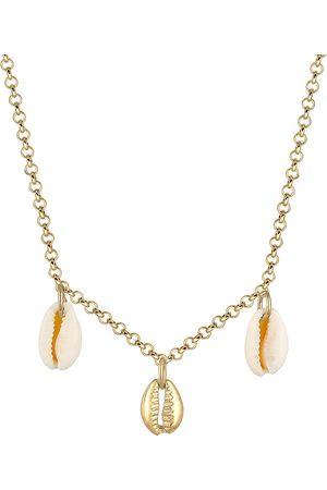 Elli Halskette Kauri Muschel Anhänger Maritim Sommer 925 Silber in , Schmuck für Damen