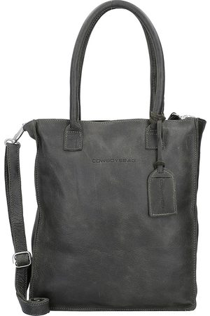 Cowboysbag Woodridge Schultertasche Leder 30 Cm Laptopfach in mittelgrün, Schultertaschen für Damen