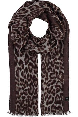 Fraas Schal Mit Animal-Print in taupe, Tücher & Schals für Damen