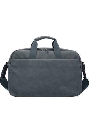 Salzen Workbag Aktentasche Leder 44 Cm Laptopfach in mittelgrau, Businesstaschen für Herren