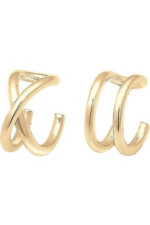 Elli Ohrringe Basic Trend Set Earcuff Klemme Minimal 925 Silber in , Schmuck für Damen
