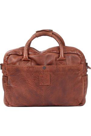 PRESLY & SUN Laptoptasche Clark Mit Großer Einstecktasche in mittelblau, Businesstaschen für Herren