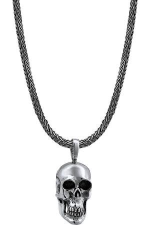 Kuzzoi Halskette Männerkette Totenkopf Anhänger Massiv 925 in , für Herren