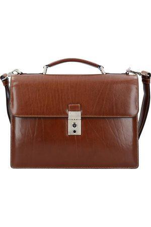 Picard Office Aktentasche Leder 37 Cm Laptopfach in mittelbraun, Businesstaschen für Herren