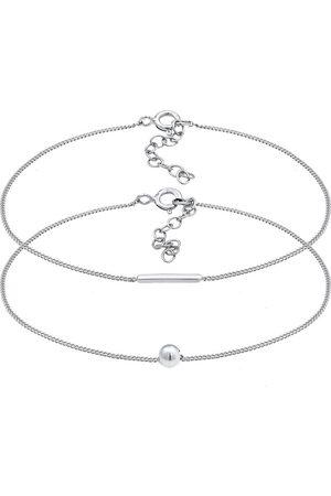 Elli Armband 2er Set Geo Symbole Basic Stab Ball 925 in , Schmuck für Damen