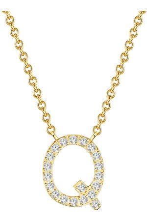 Soul Club Damen Halsketten - Halskette Buchstabe Q in , Schmuck für Damen