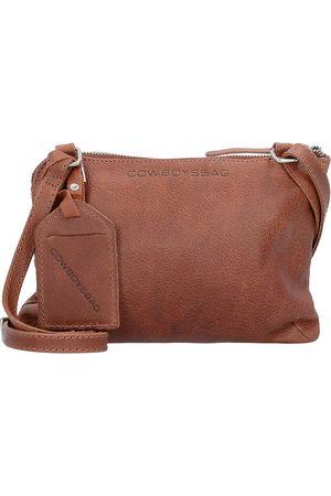 Cowboysbag Bag Tiverton Umhängetasche Leder 24 Cm in mittelbraun, Umhängetaschen für Damen
