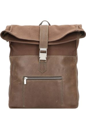 Cowboysbag Hunter Rucksack 42 Cm Laptopfach in mittelbraun, Rucksäcke für Damen
