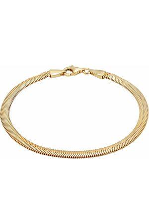 Kuzzoi Armband Flach Elegant Schlangenkette Fischgräte 925 Silber in , für Herren