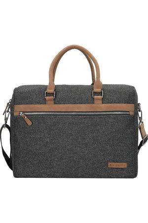 Bugatti Luce Aktentasche 40 Cm Laptopfach in mittelgrau, Businesstaschen für Herren