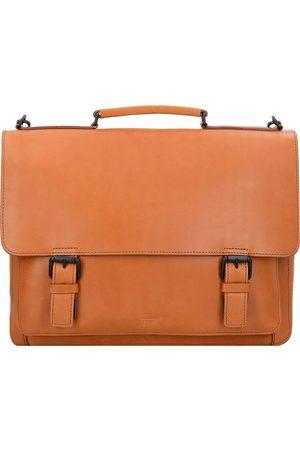 Jost Futura Aktentasche Leder 38 Cm Laptopfach in mittelbraun, Businesstaschen für Herren