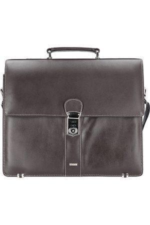 Alassio Monaco Aktentasche Leder 38 Cm Laptopfach in mittelbraun, Businesstaschen für Herren