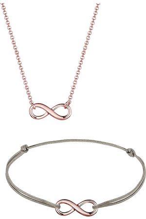 Elli Schmuckset Infinity Unendlich Verbunden 925 Sterling Silber in , Schmuck für Damen
