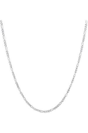 Kuzzoi Halskette Herren Figarokette Massiv Basic Trend 925 in , für Herren